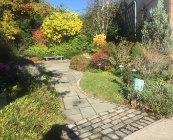 Gardens in the town of Chappaqua