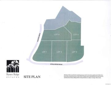new site plan